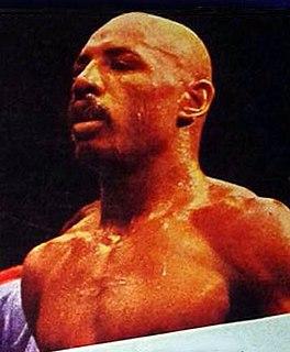Marvelous Marvin Hagler American boxer