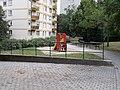 Halász László Park, playground slide, 2020 Százhalombatta.jpg