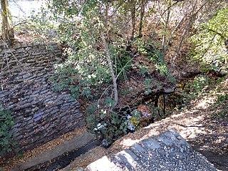 stream in Santa Clara County, California