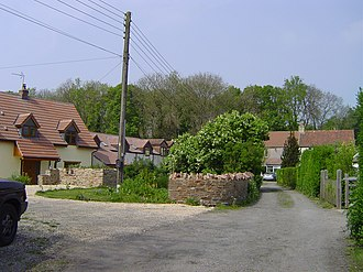 Henfield, Gloucestershire - Hamlet of Henfield - a former colliery settlement.