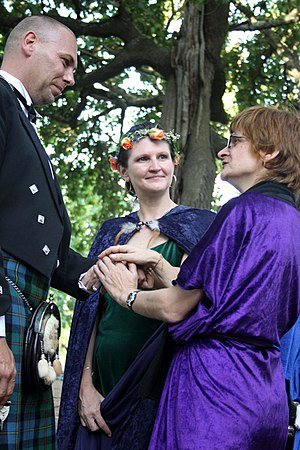 Neopaganism in South Africa - Handfasting Somerset West 2010