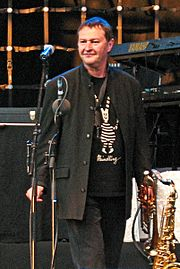 Head and founder of the band, Hans-Jürgen Buchner (2008)