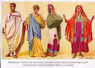 cf2ef84e25 Abbigliamento nell'antica Roma. Da Wikipedia ...