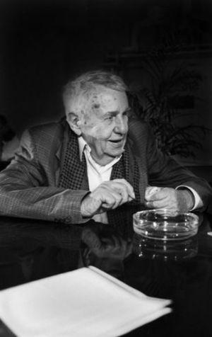Hans Werner Richter - Hans Werner Richter in 1992