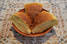 Hapalos Artos (soft bread), a traditional Ancient Roman recipe for a classic fine bread, from Athenaeus' Deipnosophistae (16336232886).jpg
