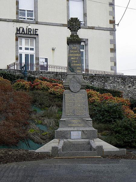 Monument aux morts d'Hardanges (53).