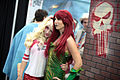 Harley Quinn & Poison Ivy cosplayers (23570930136).jpg