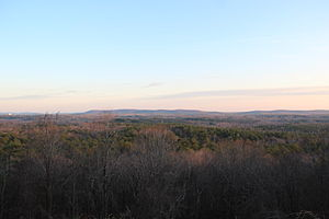 Harris County, Georgia - View of Harris County on Pine Mountain.