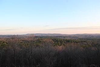 Harris County, Georgia - View of Harris County on Pine Mountain.