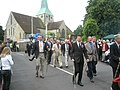Harting Old Club members beginning their parade - geograph.org.uk - 1319573.jpg