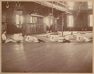 Tug of war - Harvard Tug of War team, 1888