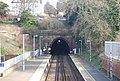 Hastings Tunnel, St Leonard's Warrior Square Station - geograph.org.uk - 1740624.jpg