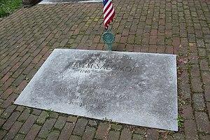 Haym Salomon - Haym Salomon marker, Mikveh Israel Cemetery, Philadelphia