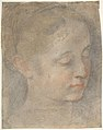 Head of a Young Woman Looking to Lower Right MET DP807829.jpg