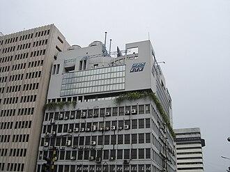 Ekushey Television -  The headquarters of Ekushey Television, Kawran Bazar, Dhaka.