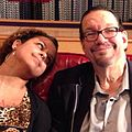 Heather Henderson and Penn Jillette in Penn's Home.jpg