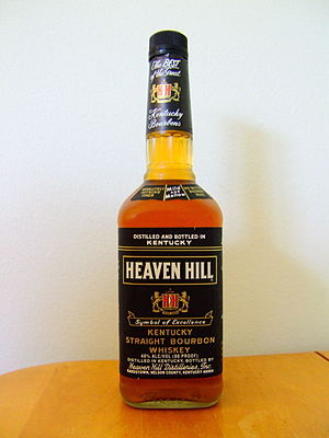 "Heaven Hill - A bottle of Heaven Hill ""Black"" Bourbon"