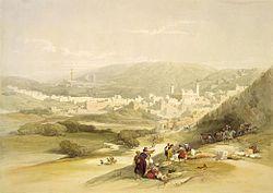 Hebron - Roberts 1839