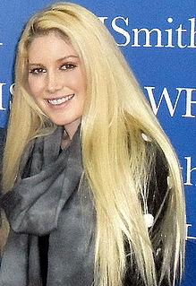 Heidi Montag American television personality