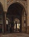 Heinrich Hansen, Fra Santa Maria delle Grazie kirken i Milano, 1874, 0085NMK, Nivaagaards Malerisamling.jpg