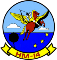 Helicopter Mine Countermeasures Squadron 14 (United States Navy) emblem.png