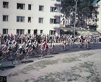 Cycling at the 1952 Summer Olympics - Image: Helsingin olympialaiset 1952