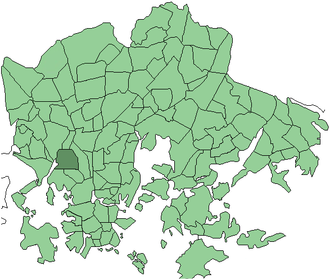 Ruskeasuo - Ruskeasuo on Helsinki map