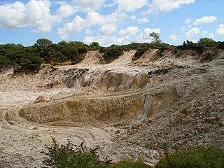 Drakelands Mine Tungsten and tin mine in Devon, England