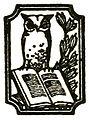 Henry Holt logo - Colas Breugnon, 1919.jpg