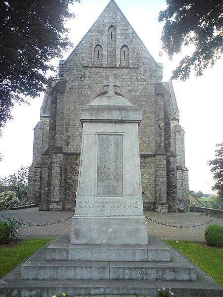 Herbesthal (Belgium): War Memorial