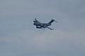 Heritage Flight Boeing C-17A Globemaster III de Havilland CV-2B Caribou 62-4149 1st Pass 01 SNF 16April2010 (14650325463).jpg