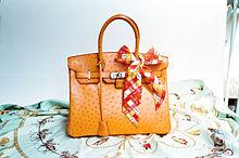 fd1369c2224 Hermès Ostrich Birkin bag.