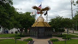 Silvis, Illinois - Hero Street Monument