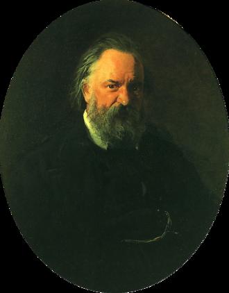 Alexander Herzen - Portrait of Herzen by Nikolai Ge (1867)