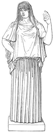 """Η ιουστινιανή Εστία από το """"Λεξικό κλασικών αρχαιοτήτων"""" του Ο. Σέηφερτ (1894)"""
