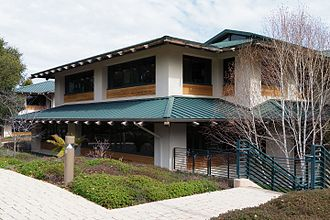 Hewlett Foundation - The Hewlett Foundation's office building in Menlo Park