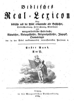 Johann Wilhelm Friedrich Hezel: Biblisches Rea...