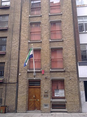 High Commission of Sierra Leone, London - Image: High Commission of Sierra Leone in London 1