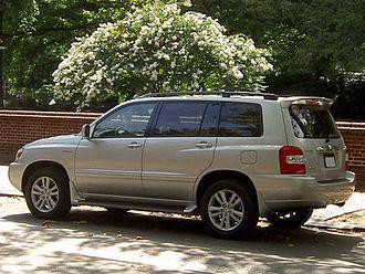 Toyota Highlander - Highlander Hybrid