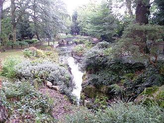 Highlands Gardens - Rockworks at Highlands Gardens.