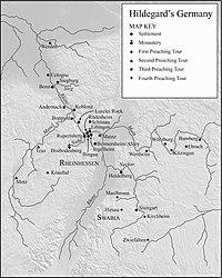 Hildegard map
