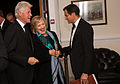 Hillary Rodham Clinton and Bill Clinton Chatham House Prize 2013 Award Ceremony (10224270073).jpg