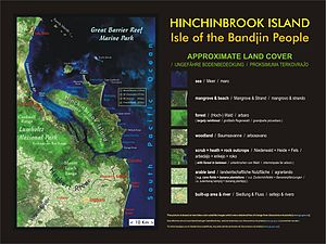 Hinchinbrook Island - Map showing land cover
