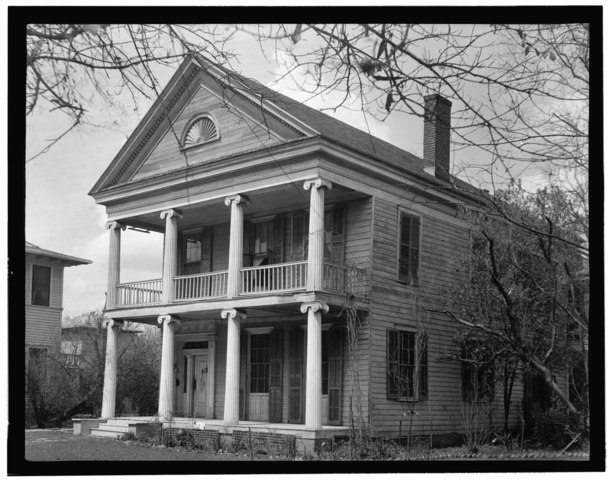 Historic Home Elevation : File historic american buildings survey william j bulger