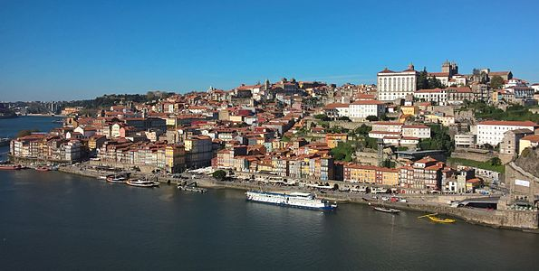 Historical part of Porto