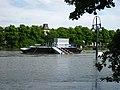 Hochwasser Magdeburg 2013 Fähranleger Petriförder 2013-06-13.JPG