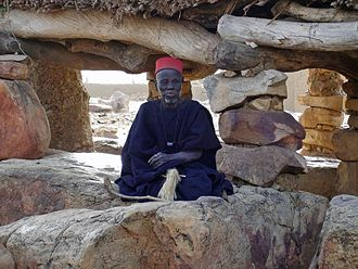 Dogon people - A Hogon.