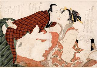 Hokusai, A Makeshift Pillow