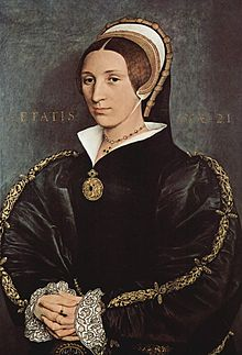 Holbein, Hans (II) - Portrait of a lady, probably of the Cromwell Family formerly known as Catherine Howard.jpg