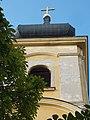 Holy Trinity Church, tower, 2018 Győr.jpg